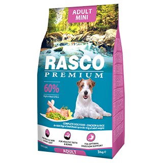 Picture for category Rasco Dog suché krmivo