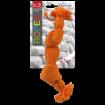 Uzel DOG FANTASY oranžový pískací 2 knoty 22 cm
