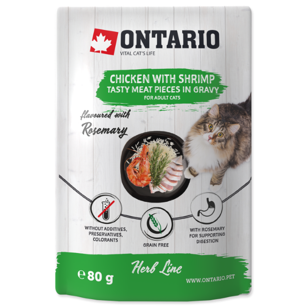 Picture of Ontario Herb - Chicken with Shrimps, Rice and Rosemary 80g