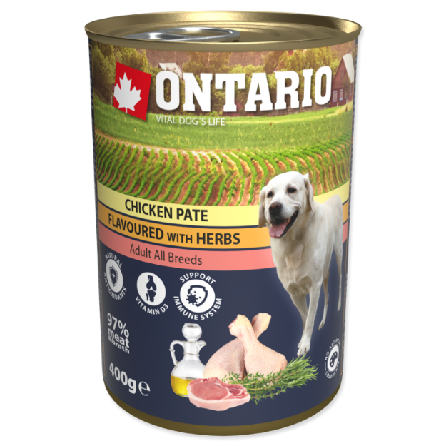 Picture of Konzerva ONTARIO Chicken Pate Flavoured with Herbs
